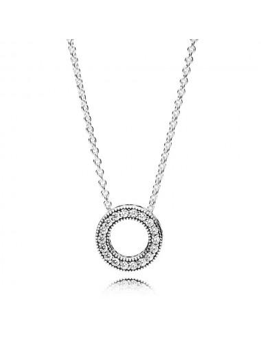 Pandora Logo Pavé Circle...