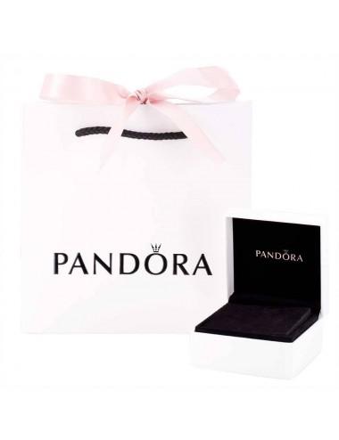 Sparkling Pandora Logo Stud...