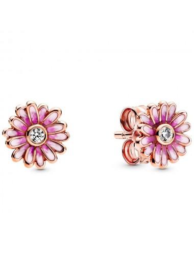 Pink Daisy Flower Stud...
