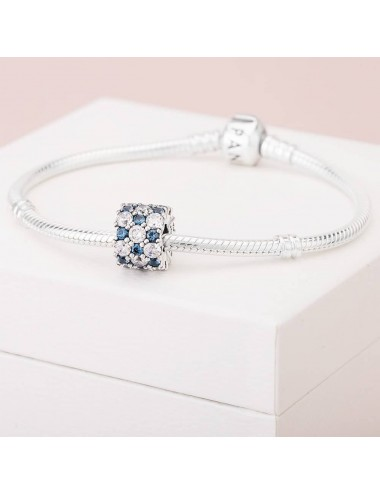 Blue and Clear Sparkle Charm