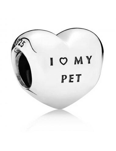 I Love My Pet Paw Print...