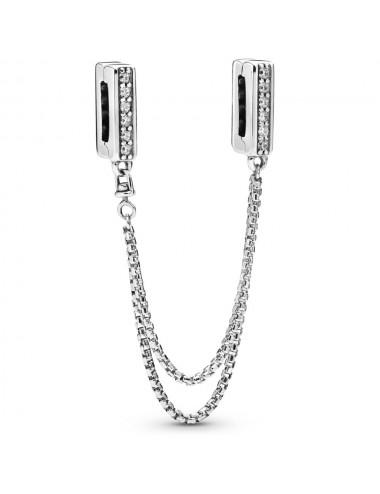 Sparkling Safety Chain Clip...