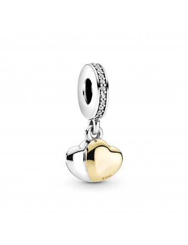 Two-Tone Double Heart...