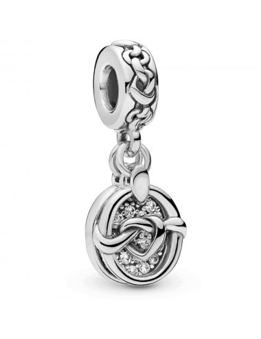 Knotted Hearts Dangle Charm