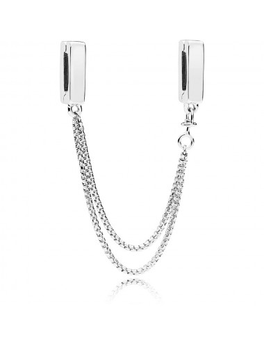 Safety Chain Clip Charm
