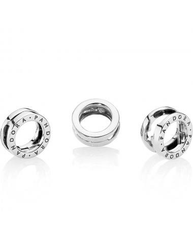 Pandora Logo Circle Clip Charm