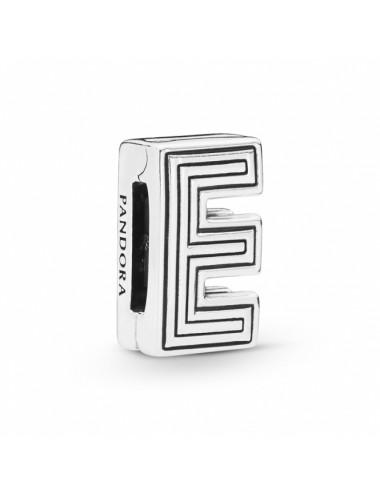 Letter E Clip Charm