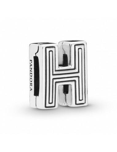 Letter H Clip Charm