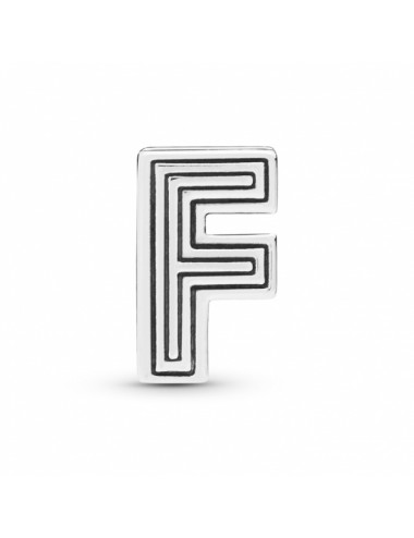 Letter F Clip Charm