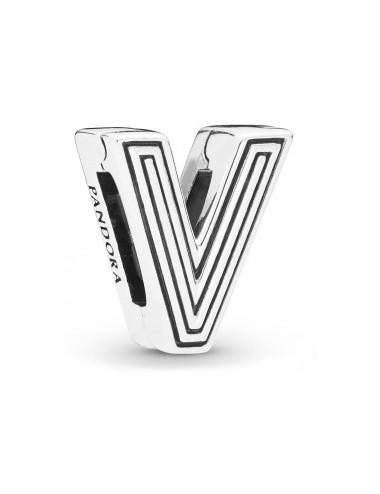 Letter V Clip Charm