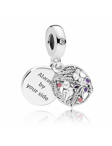 Bird & Mouse Dangle Charm
