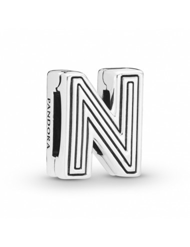 Letter N Clip Charm