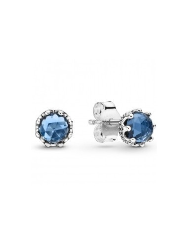 Blue Sparkling Crown Stud...
