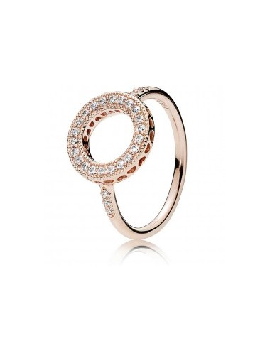 Sparkling Halo Ring