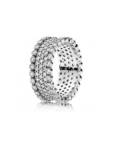 Sparkling Pavé Band Ring