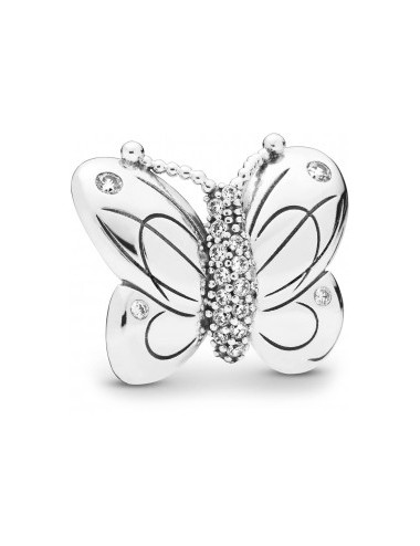 Oversized Butterfly Clip Charm