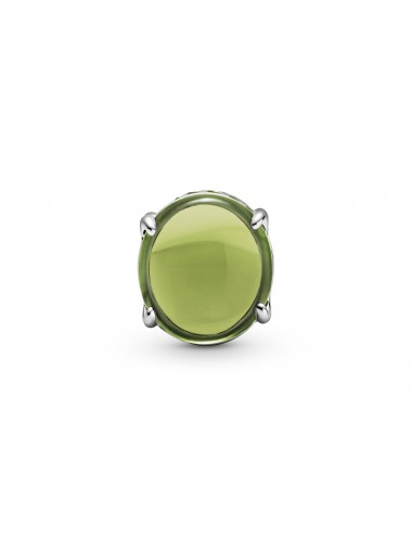 Green Oval Cabochon Charm