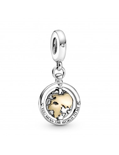 Spinning World Dangle Charm