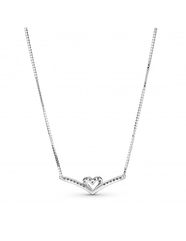 Sparkling Wishbone Heart...