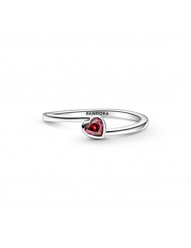 Red Tilted Heart Solitaire...