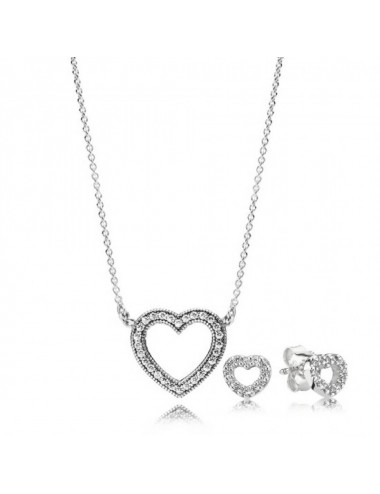 Loving Hearts Jewellery Set