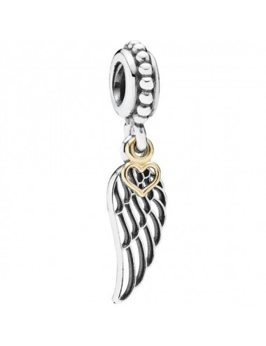 Angel Wing & Heart Dangle...