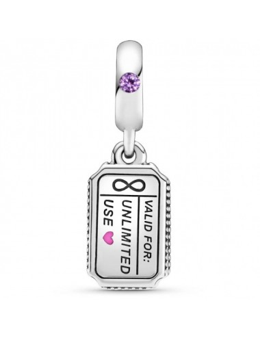Love Coupon Dangle Charm