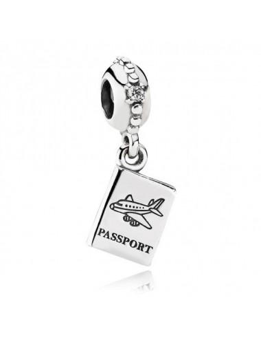 Passport Travel Dangle Charm