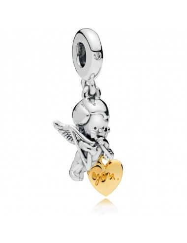 Cupid & You Heart Dangle Charm