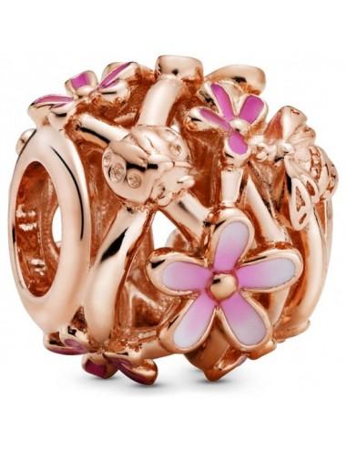 Openwork Pink Daisy Flower...