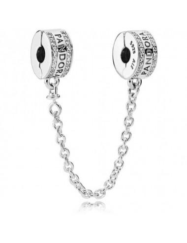 Pandora Logo Safety Chain...