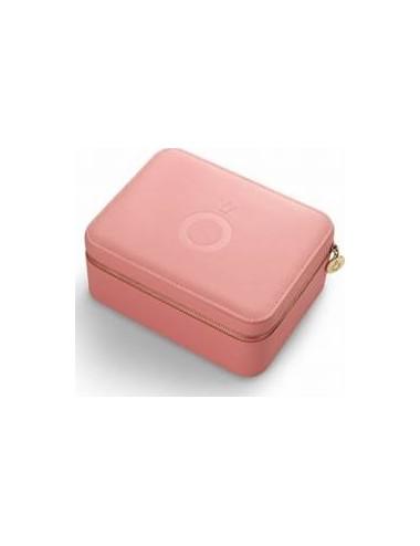 Pink Travel Jewellery Box