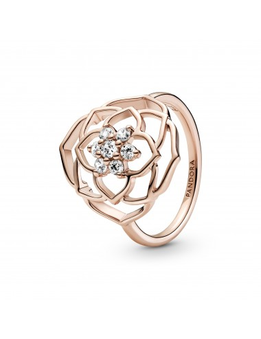 Rose Petals Statement Ring
