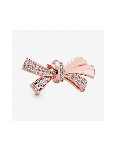 Oversized Sparkling Bow Charm