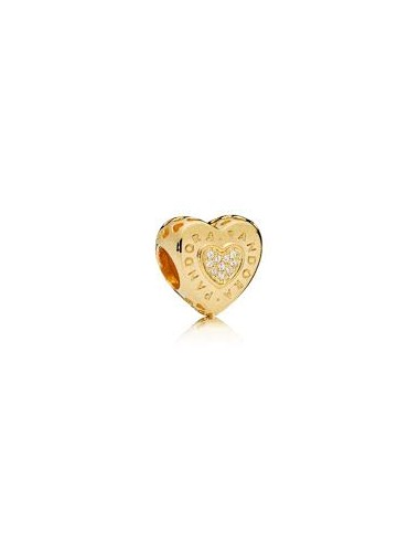 Shine Logo Heart Charm