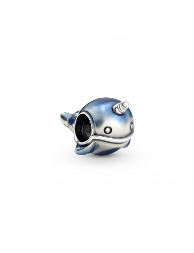 Shimmering Narwhal Charm