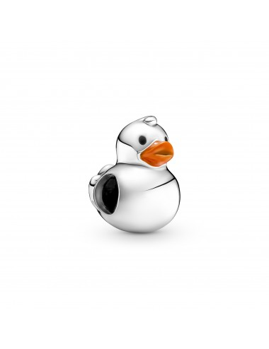 Polished Rubber Duck Charm