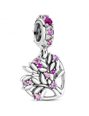 Pink Heart Family Tree...