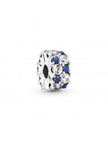 Clear & Blue Sparkling Clip...