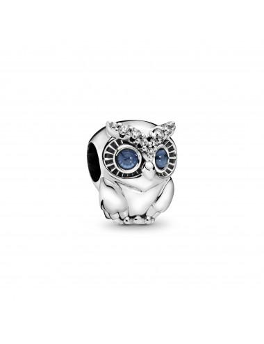 Sparkling Owl Charm